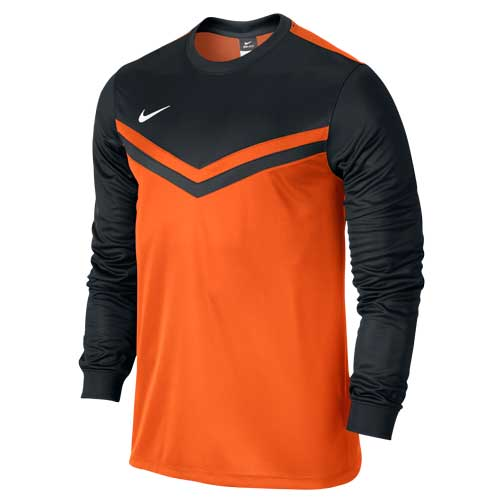 c0cd800ee Nike Safety Orange  Black Long Sleeve Jersey