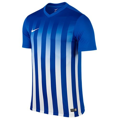 5eedb3d03701 Nike Striped Division II Jersey - Royal Blue   White