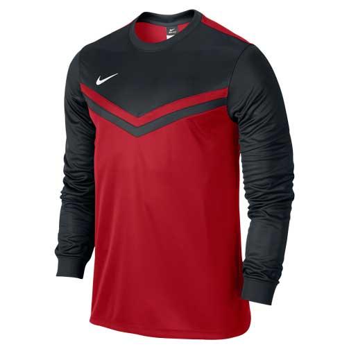 64b82e76dfa9 Nike University Red  Black Long Sleeve Jersey